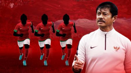 Tiga pemain timnas Indonesia U-23 paling menonjol usai menahan imbang Arab Saudi 1-1 di laga tiga CFA Football International Tournament 2019, Selasa (15/10/19). - INDOSPORT