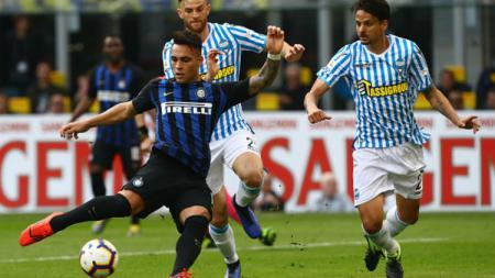 Inter Milan vs SPAL. - INDOSPORT