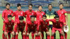 Indosport - Myanmar berhasil mengalahkan Tajikistan dengan skor 4-3 dalam lanjutan Grup F Kualifikasi Piala Dunia 2022.
