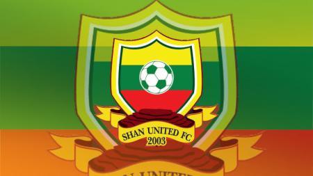 Logo Shan United,Club asal Myanmar yang mengikuti kompetisi AFC. - INDOSPORT