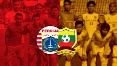 Indosport - Skuat Persija dan Shan United.