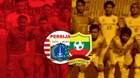 Perbandingan harga skuat Shan United dan Persija Jakarta. - INDOSPORT