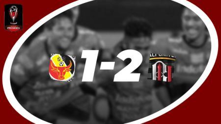 Hasil pertandingan Semen Padang vs Bali United - INDOSPORT