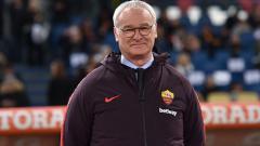Indosport - Pelatih baru AS Roma, Claudio Ranieri.