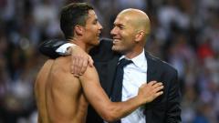 Indosport - Cristiano Ronaldo secara tersirat mengungkapkan bahwa ia merindukan Real Madrid karena sosok Zinedine Zidane