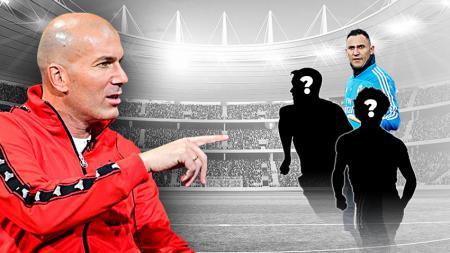 Sempat terbuang, 3 pemain Real Madrid ini bisa jadi starter di bawah arahan Zidane. - INDOSPORT