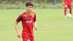Indosport - Wakil kapten Timnas Vietnam U-23, Nguyen Hoang Duc.
