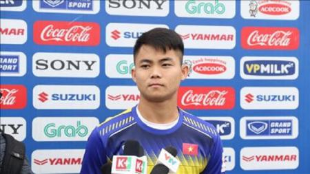Bek Timnas Vietnam U-23, Ngo Tung Quoc. - INDOSPORT