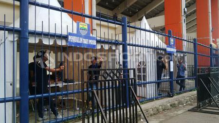 Situasi Si Jalak Harupat, lokasi laga Persib Bandung vs Madura United dalam lanjutan pekan kelima Shopee Liga 1 2019. - INDOSPORT