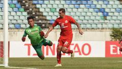 Indosport - Shan United vs Persija Jakarta