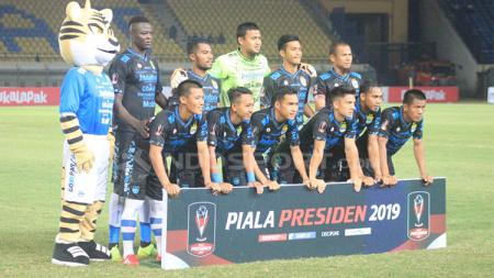 Starting eleven Persib Bandung. - INDOSPORT