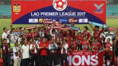 Indosport - Lao Toyota FC Sukses Menjuarai Liga Laos 2017