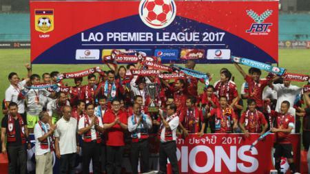 Lao Toyota FC Sukses Menjuarai Liga Laos 2017 - INDOSPORT