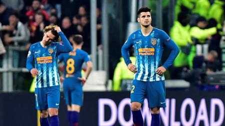 Kekecewaan Alvaro Morata usai Atletico Madrid kalah dari Juventus - INDOSPORT