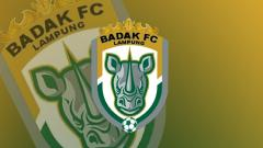 Indosport - Logo Tim sepak bola Badak Lampung FC