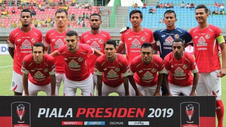 Skuat Semen Padang di Piala Presiden 2019 Copyright: semenpadangfc.co.id