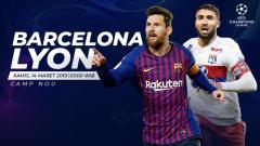 Indosport - Prediksi Barcelona vs Lyon