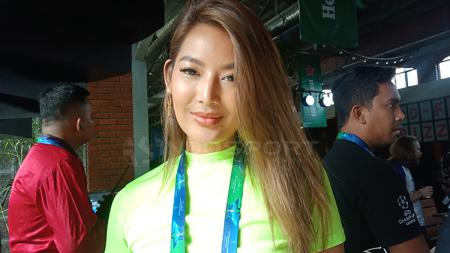 Maria Selena, model sekaligus selebritas pecinta olahraga