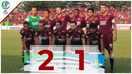 Babak pertama PSM Makassar vs Lao Toyota - INDOSPORT