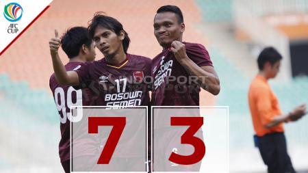 Hasil pertandingan PSM Makassar vs Lao Toyota - INDOSPORT