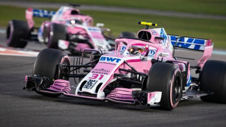 Tim Racing Point telah mengonfirmasi mereka bakal merilis mobil balap pada bulan Februari nanti, yang akan dipakai untuk gelaran Formula 1 (F1) tahun 2020. - INDOSPORT