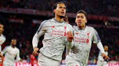 Indosport - Selebrasi gol Liverpool