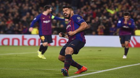 Pemain Barcelona, Luis Suarez - INDOSPORT