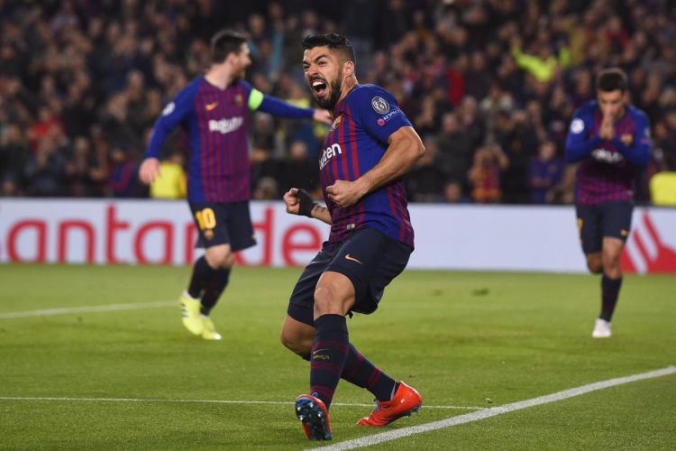 Pemain Barcelona, Luis Suarez Copyright: Getty Images