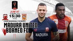 Indosport - Prediksi pertandingan di piala presiden Madura United vs Borneo fc