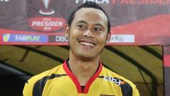 Indosport - Mantan pemain Persib Bandung, Atep, belum menerima gaji pertamanya di tim Liga 2 2020, PSKC Cimahi