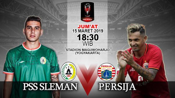 Persija Vs PSS Update: Susunan Pemain Piala Presiden 2019: PSS Sleman Vs Persija
