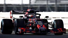 Indosport - Mobil RB15 Red Bull Racing Honda
