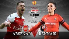 Indosport - Prediksi pertandingan Arsenal vs Stade Rennes