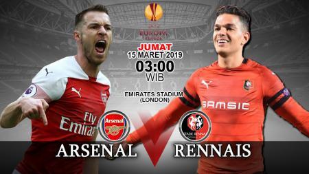 Prediksi pertandingan Arsenal vs Stade Rennes - INDOSPORT