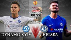 Indosport - Prediksi pertandingan DYNAMO KYIV vs CHELSEA