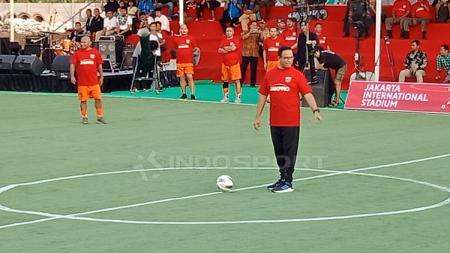 Anies Baswedan Lakukan Kick-Off Pembangunan Jakarta International Stadium - INDOSPORT