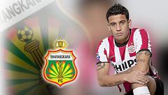 Indosport - Jonathan Reis saat masih di club PSV.