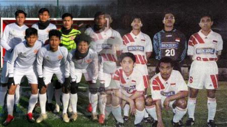 Garuda Select dan PSSI Primavera. - INDOSPORT