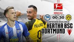 Indosport - Prediksi pertandingan Hertha BSC vs Dortmund