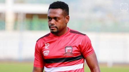David Laly, pemain baru Madura United - INDOSPORT