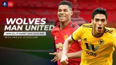 Indosport - Prediksi Wolverhampton vs Manchester United