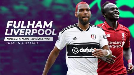 Fulham vs Liverpool - INDOSPORT