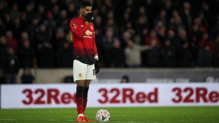 Marcus Rashford, penyerang Manchester United. - INDOSPORT