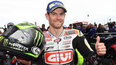 Indosport - Cal Crutchlow berpose di MotoGP seri Argentina.