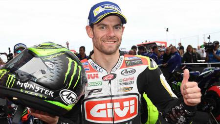 Cal Crutchlow berpose di MotoGP seri Argentina. - INDOSPORT