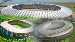 Indosport - 3 Stadion Indonesia berkelas internasional yang bisa digunakan di Tahun 2020-an.