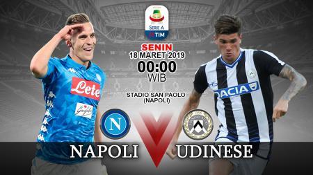 Prediksi pertandingan Napoli vs Udinese. - INDOSPORT
