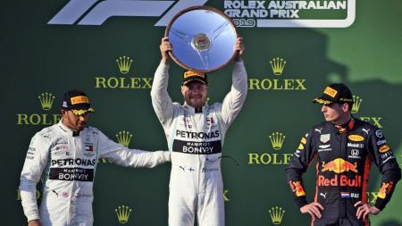 Valtteri Bottas juara F1 GP Australia. - INDOSPORT