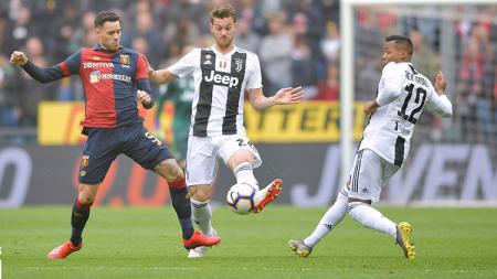 Pertandingan Juventus vs Genoa pada hari Minggu(3/17/2019). - INDOSPORT