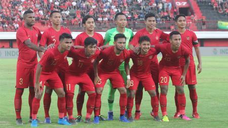 Pertandingan Timnas U23 vs Bali United pada Minggu(3/17/2019). - INDOSPORT